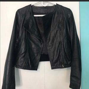 100% Lambskin Leather Jacket